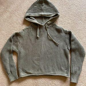Pink VS cotton sweater XS